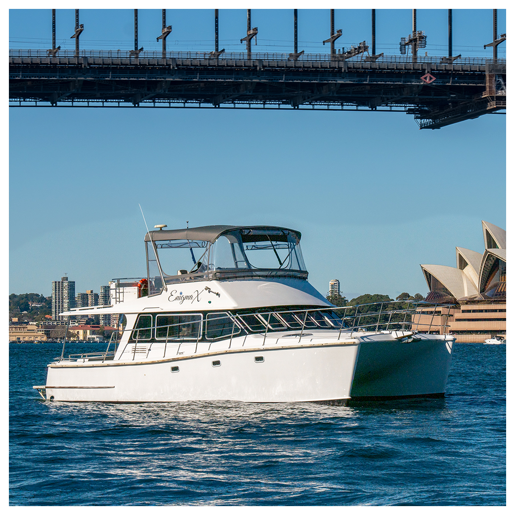 Enigma X - Private Boat Hire - Sydney Harbour
